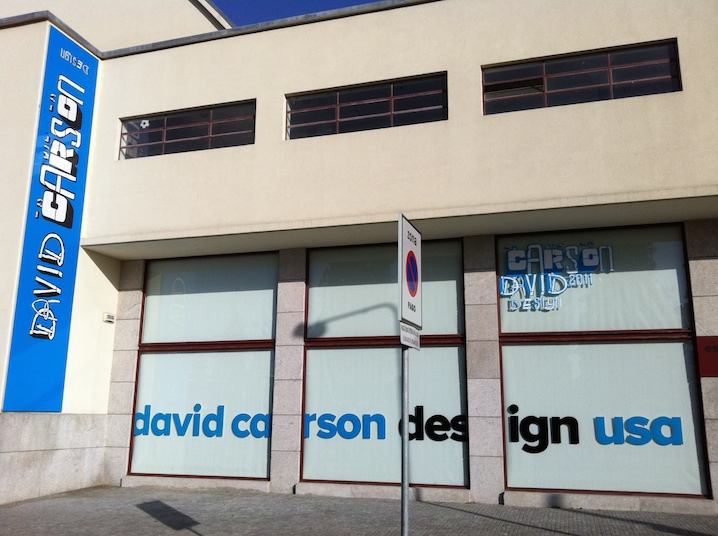 David Carson Offices - Graphic Designer