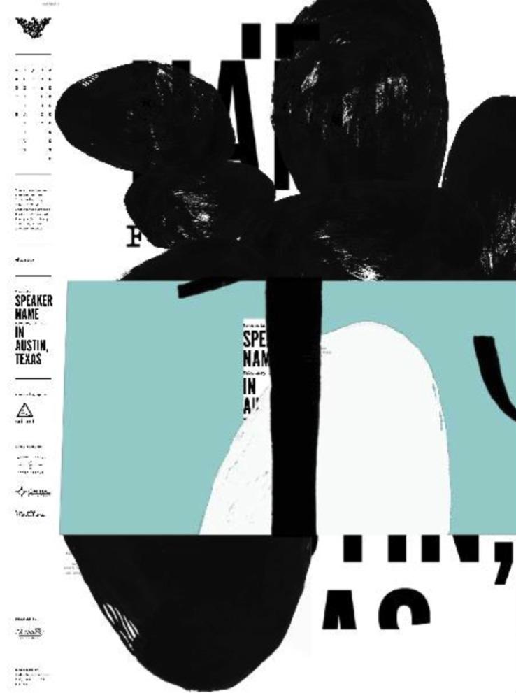 poster | david carson design