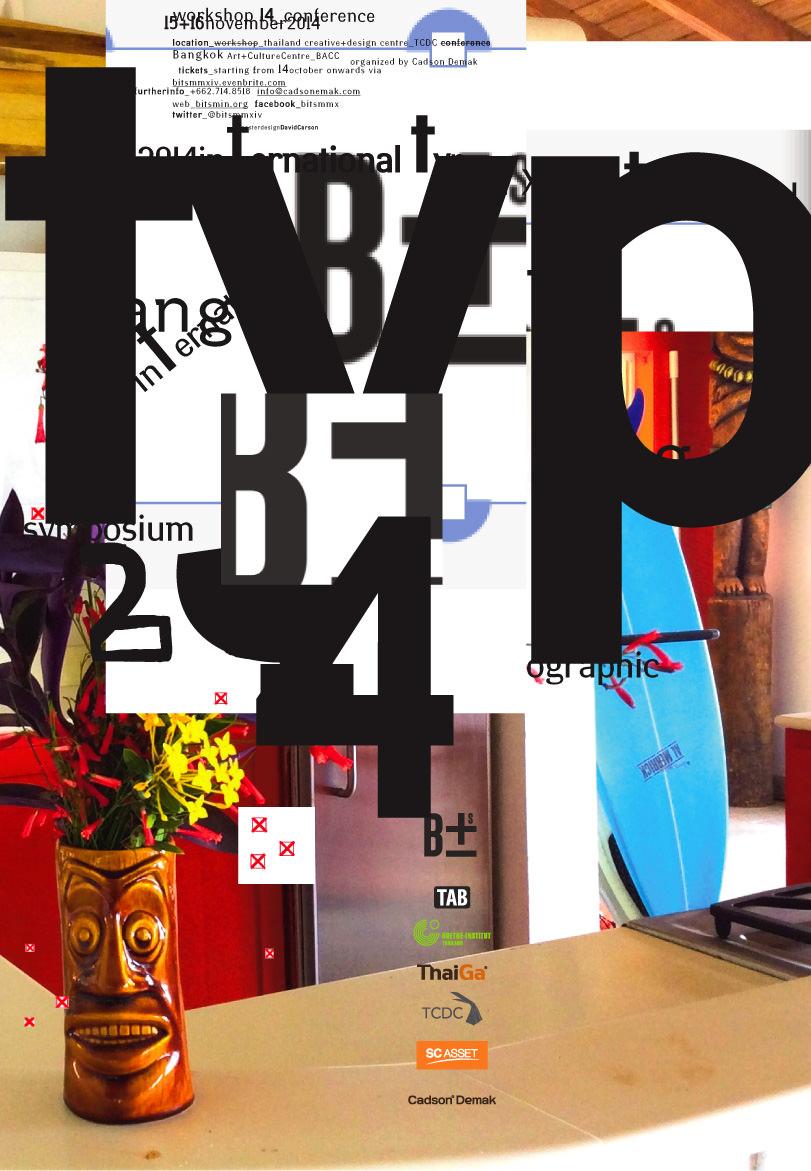 Poster David Carson Design