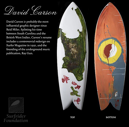 surfboard | david carson design